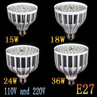 1pc E27 5730 led bulb light lamp AC 220V 110V Bulb lighting, 15W 18W 24W 36W ,white&warm white LED Bulb Lamps