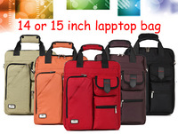 Edifier 13 14 15 inch Nylon upright vertical Computer laptop notebook bags case messenger Shoulder bag Durable Free shipping