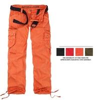 Women Clothing Women's Cargo Pants Multi-pockets Girls Harem Hip Hop Dance Pants Casual Baggy Trousers for Camping& Hiking 89075