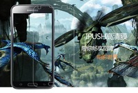 High definition with cloth gift and good package 20 pcs/lot galaxy s5 i9600 screen film with free shipping