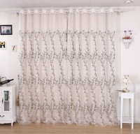 new 2014 high quality sheer curtains linen trees tulle curtains  fabric home decor wholesale free shipping