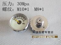 Pcp AirForce Condor High pressure table 30 mpa pressure gauge, m8 * 1 Luminous pressure gauge