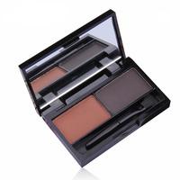 Rosalind New 2014 New 2 Color Cosmetic Eyebrow Enhancer Makeup Eye Brow Powder Makeup Free Shipping