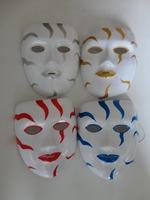 Free shipping for e-EMS  PVC Blood mask/ Terrorist Halloween mask/Carnival mask for small wholesale 50pcs/lot  size:18*15.5