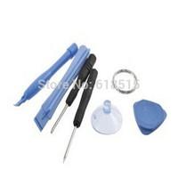 Screwdriver set kit Sucker Pry Repair Opening Tool Kit Set 6 in 1 For Apple iPhone 4 4S 500set/LOT