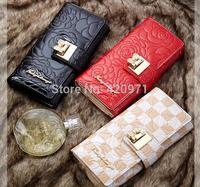 NEW Fashion Women Party Wallet / Beautiful Long Card Wallet / Shiny Clutch Bag Free shipping