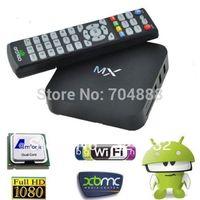 Android tv box XBMC mx2 Android TV box Amlogic 8726-MX Dual core 1.5GHz 1GB RAM 8GB mx midnight droidbox tv box
