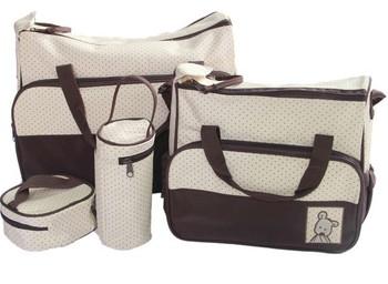 Высокое качество младенцев сумки мода пеленки мешок многофункциональный двойной - ...