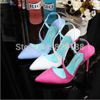 New 2014 Summer women sandal Fashion high heels Red bottom Women pumps Popular Roman shoes Women Free shipping Shoes