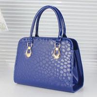 2014 New style  women's bags patent leather handbag shoulder bag messenger bag
