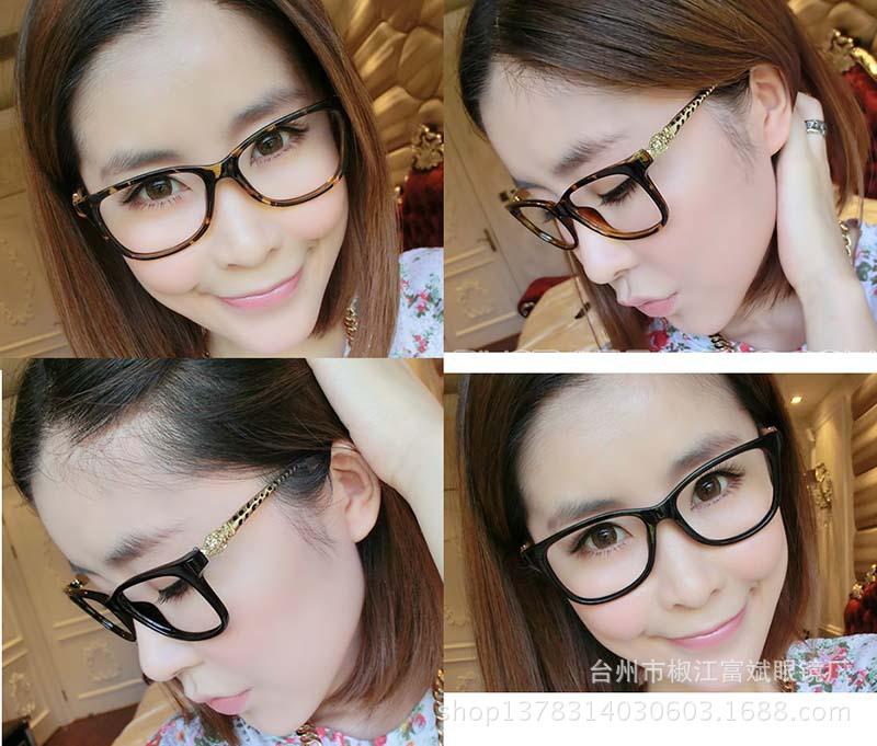 Stylish Designer Decoration frames of myopia metal legs snake head, personality style glasses frames(China (Mainland))