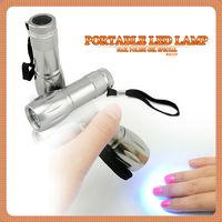 Nail art gel dryer 9w portable led hand lamp  #40239w
