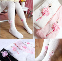 Retail New 2014 Cotton Children Pants Girls Cute Leggings Free Shipping ZM1188