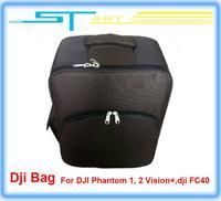 Drop shipping hot 2014 fashion Backpack bag for DJI Phantom 2 Vision+ FC40 GPS RC drone Quadcopter FPV Camera VS aluminu boy toy