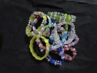 Fine imitation Opal crystal bracelet