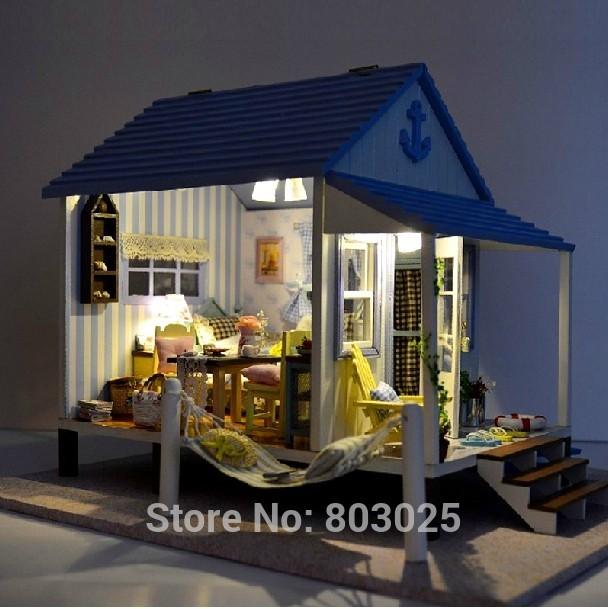 Детский набор для моделирования Sino creation DIY ,  DIY Coast Villa