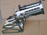 Humvees channel mountain bike frame hummer folding frame aluminum alloy frame