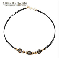 Neoglory Jewelry  Crystal Chain Necklace for Women Jewelry Accessories 2014 Spring Fashion Gift New