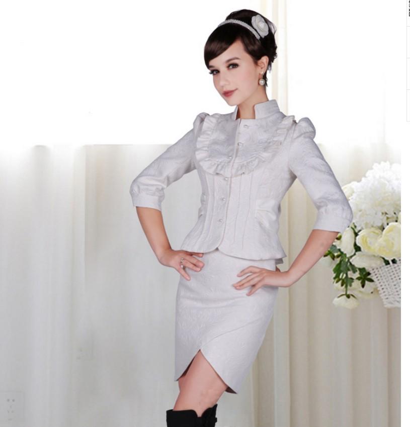 Женские костюмы пиджак и юбка с доставкой
