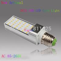G24 /E27 LED horizontal plug lamp 5W 7W 9W 10W LED Corn Light 2835 40 SMD LED bedroom lighting LED Bulb 85~265V