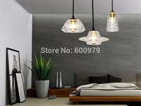 Hot selling   Tom Dixon glass pendant lights Modern pendant lamp  Bar Contemporary lighting fixtures 3 piece