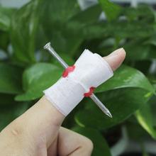Fake Blood Manmade Nail Through Finger With Bandage April Fool Trick Prop Scary Toy ES88(China (Mainland))