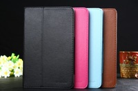 100pcs New Stand  PU Leather Case Folio Pouch Cover For Lenovo Tab A8-50 A5500 8 inch Tablet PC,Free shipping
