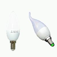 10PCS/LOT- Free Shipping! LED Candle Light 2835SMD Bulb Lamp High Brightnes 5W 7W E14 AC220V 230V 240V Cold White/Warm White