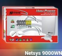 Original free shipping ! High power NETSYS 9000WN 150Mbps 802.11b/g/n USB WLAN WiFi Wireless Network Adapter 98dbi
