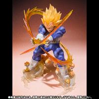 "Figuarts Zero Super Saiyan ""Vegeta"" Dragon Ball Z DBZ Bandai Tamashii in box"