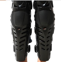 New Fashion  Pro-biker Reinforced ABS Cover  Motorcycle Racing Protective Knee Elbow Pad  Safety Protector Guard Gear Set