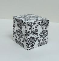 5*5*5cm  new damask candy box,chocolate box.sweet box ,gift box