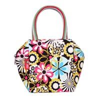 Free shipping 2014 New arrived Women's fashion handbag MINI Totes Lovely canvas bag for girls Leisure Printing handbag SMALL