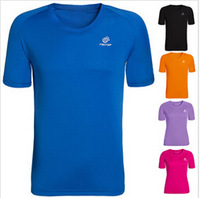 Short-sleeve fast drying clothing o-neck breathable quick dry sports lovers design quick-drying t-shirt