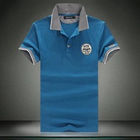 Mens Polo New 2014,Males Casual Cotton Plus Size Polo Shirt Size M-6XL Hot,Free Shipping