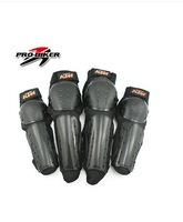 Reinforced ABS Cover  KTM Motorcycle Racing Protective Knee Elbow Pad  Motorcycle Accessories Spare Part 4 Protections