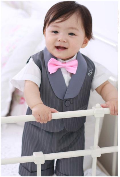 boy blazer Male child formal dress/ boy vest/ flower boy vest/ male child suit vest(China (Mainland))