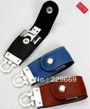 wholesale usb flash leather