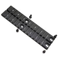 2 Piece /set Handguard Picatinny Standard RIS Rail Set with 13 Slots for G36 series -Long pcs