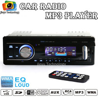 New arrivalCar Radio Player MP3 FM/USB/1 Din/remote control/USB port 12V Car Audio Auto Steoro Car MP3