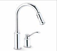 2014 Promotion Sale Contemporary Single Handle Polished Moen 7590c Aberdeen One-handle High Arc Pulldown Kitchen Faucet, Chrome