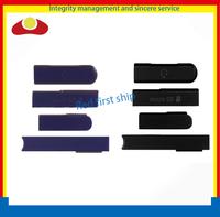 Original Cover Flap Set for Sony Xperia Z L36h LT36 USB Port+Earphone Jack+Micro SD+SIM Card Block Cover White Black or Purple