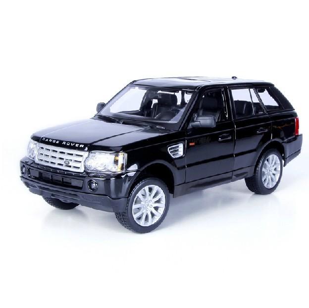 1:18 Range Rover Sport (Black,Red) by BBURAGO Christmas Gift(China (Mainland))