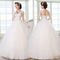 Bandage princess bride wedding dress formal dress famous design bride dress Freeshipping