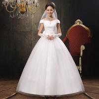 New arrival 2014 Hot sale brief sweet princess wedding dress tube top bride dress Freeshipping