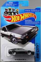 Free shipping Hot wheels Delorean DMC-12 Car Alloy Mordel  Toy No.33