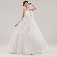 2013 bride sweet paillette one shoulder high waist wedding dress pregant bride wedding dress Freeshiping