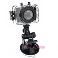 Waterproof Sports Digital Camera DV Camcorder with 16GB Micro SD/TF Card (Black) 2.0-inch Touch Screen 10M