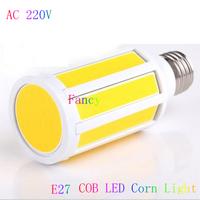 6pcs  E27 E14 COB LED Lamps AC 220V 7W/10W  Chandelier Spot Lights 360 degree Corn Bulbs Indoor