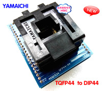 Free Shipping  100% New  High Quality TQFP44 to DIP44 / LQFP44 tO DIP44  adapter Programmer socket/ IC Adapter